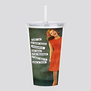 Give a F Acrylic Double-wall Tumbler