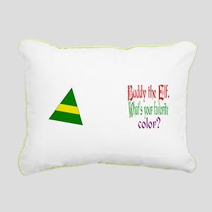 favourite color Rectangular Canvas Pillow