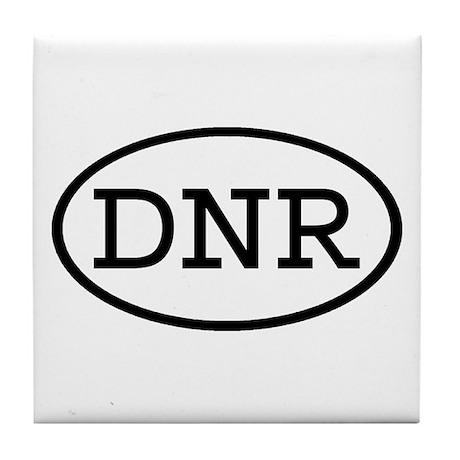 DNR Oval Tile Coaster