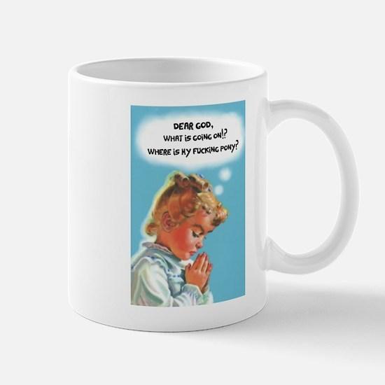 Dear God Mugs