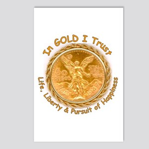 Mex Gold Postcards (Package of 8)
