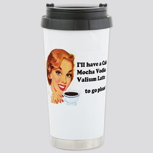 Vodka Latte ToGo Travel Mug