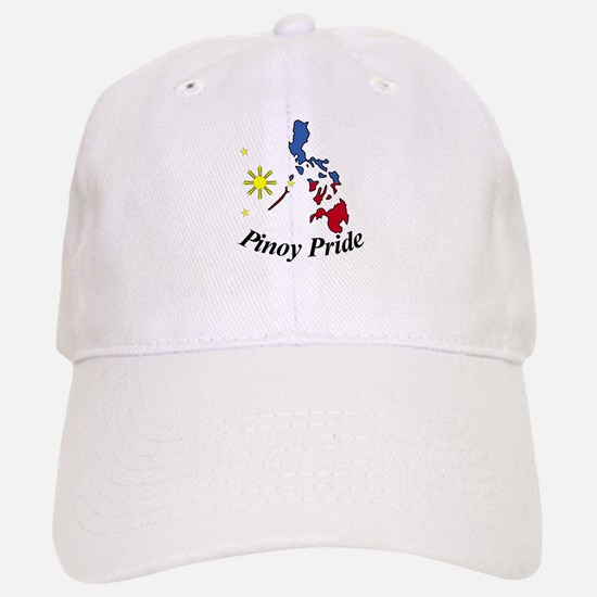 Pinoy Pride Map Baseball Baseball Cap