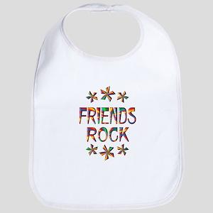 Friends Rock Bib