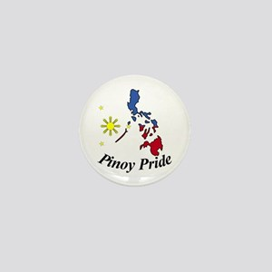 Pinoy Pride Map Mini Button