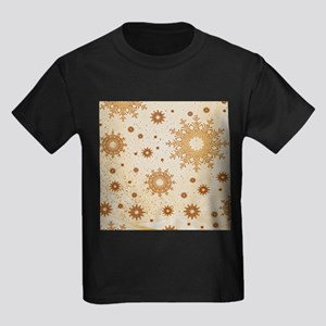 Snowflakes golden T-Shirt