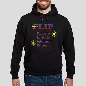 F.L.I.P. Hoodie (dark)