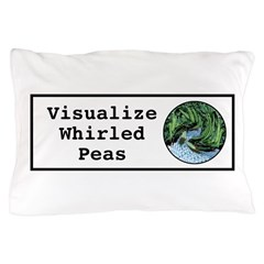 Visualize Whirled Peas Pillow Case