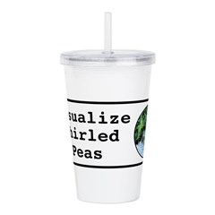 Visualize Whirled Peas Acrylic Double-wall Tumbler