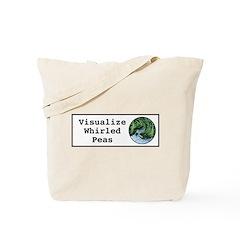 Visualize Whirled Peas Tote Bag