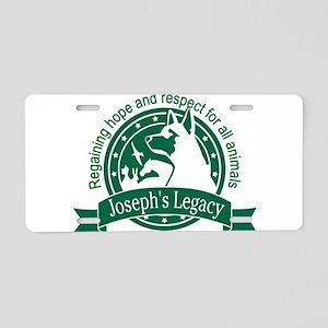 Joseph's Legacy Aluminum License Plate