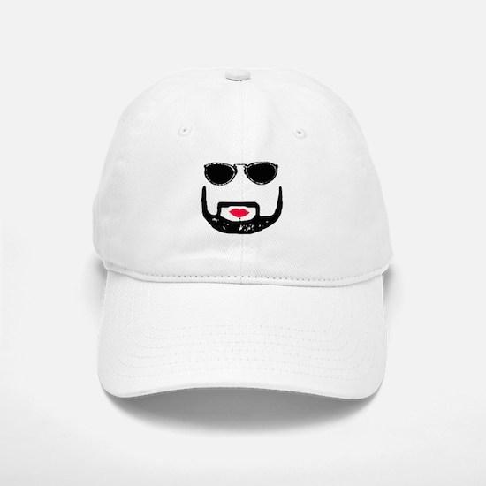 Sunglasses and a Goatee Baseball Baseball Cap