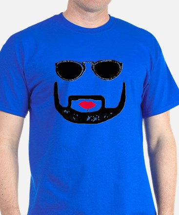 Sunglasses and a Goatee  T-Shirt