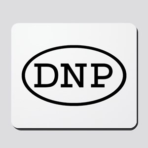 DNP Oval Mousepad