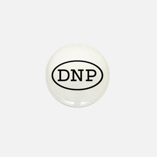 DNP Oval Mini Button