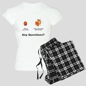 Brain with six kids Women's Light Pajamas
