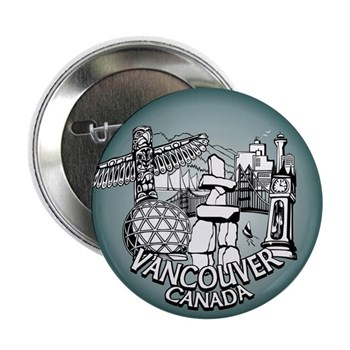 Vancouver Souvenir Button 10 pack Vancouver Button