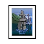 Vancouver Souvenir Framed Panel Print