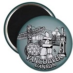 Vancouver Souvenir Fridge Magnets 10 pack Magnets