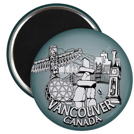 Vancouver Souvenir Fridge Magnets 10 pack Magnets