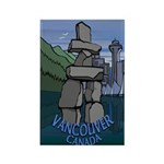 Vancouver Souvenir Rectangle Magnet (10 pack)