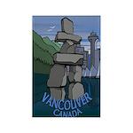 Vancouver Souvenir Rectangle Magnet (10 pack)