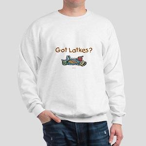 Got Latkes Chanukah Sweatshirt