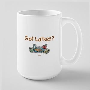 Got Latkes Chanukah Large Mug