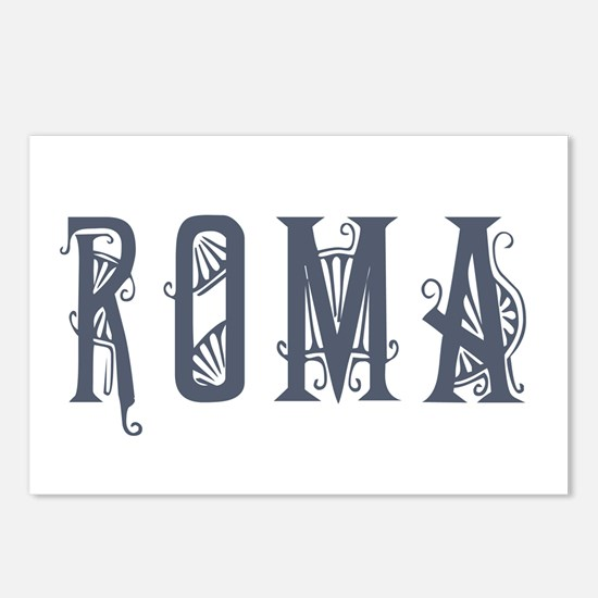 Roma 2 Postcards (Package of 8)