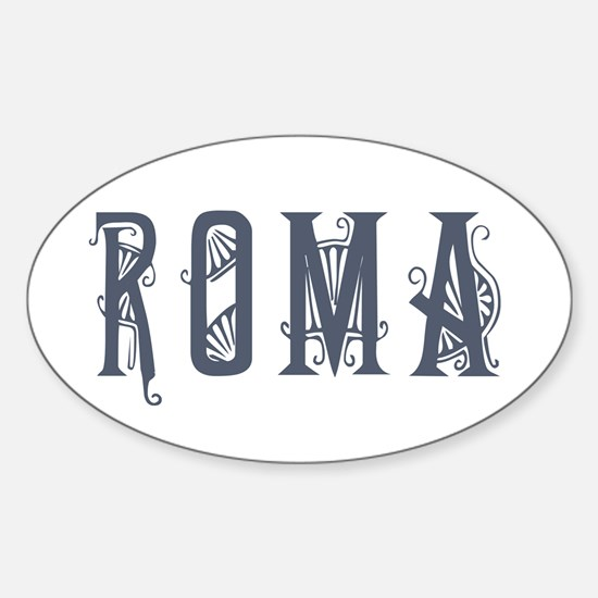 Roma 2 Oval Decal