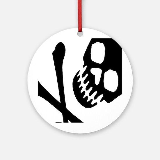 CROSSBONES Ornament (Round)