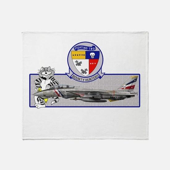 vf2shirt copy.png Throw Blanket