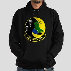 48th Airlift Squadron Hoodie (dark)