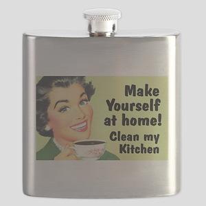 Clean My Kitchen Flask