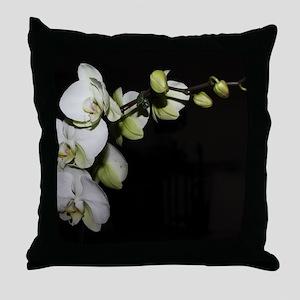 Phalaenopsis 1 Throw Pillow
