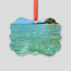 Maui Time Picture Ornament