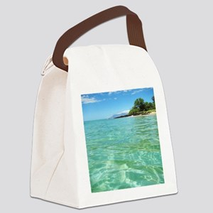 Maui Time Canvas Lunch Bag