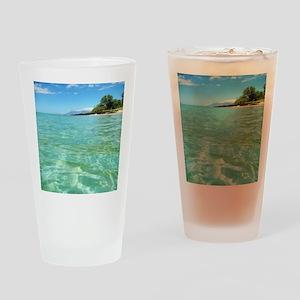 Maui Time Drinking Glass