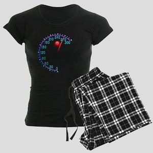Counter Red Point Women's Dark Pajamas