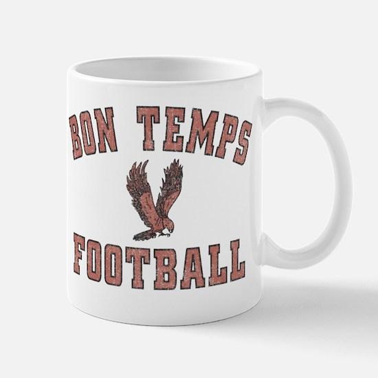 Bon Temps Football Mug