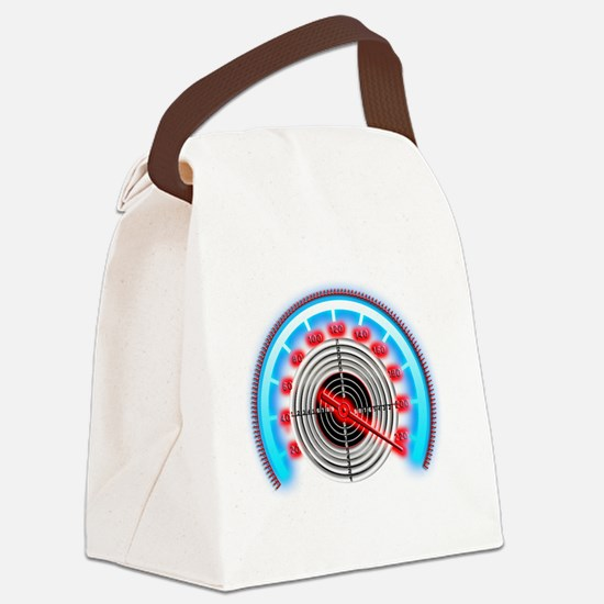 Target Counter Canvas Lunch Bag
