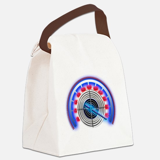 Blue counter Target  Canvas Lunch Bag