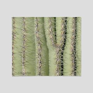 Saguaro Detail Throw Blanket