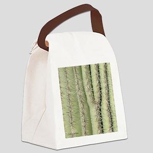Saguaro Detail Canvas Lunch Bag