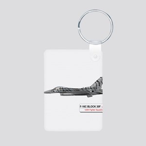 f16_fighting_falcon_block_30 Keychains