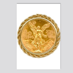 Mexican Oro Puro w/bezel Postcards (Package of 8)