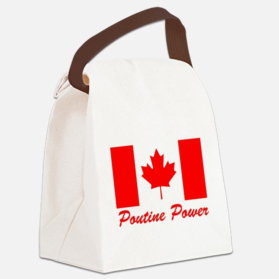 Poutine Power Canvas Lunch Bag