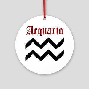 Acquario Round Ornament