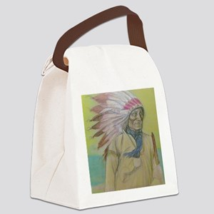 Thought's in the Wind Canvas Lunch Bag