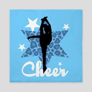 Blue Cheerleader Queen Duvet